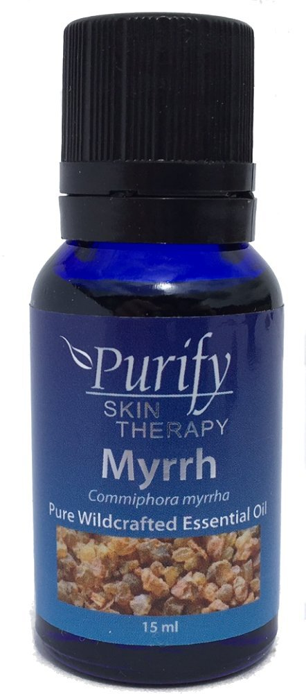 Myrrh Essential Oil Wildcrafted, 100% Pure, 15 ml by Purify Skin Therapy