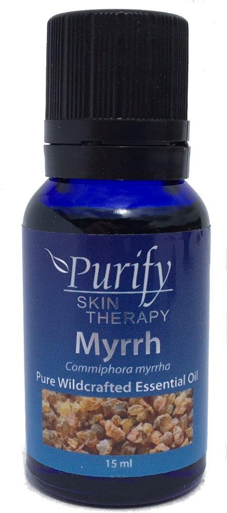 Myrrh Essential Oil Wildcrafted, 100% Pure, 15 ml