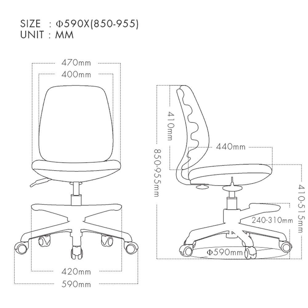 WYYY stolar svängbar stol ergonomiskt linne kontor släta hjul stark metall bas fotstöd höjd justerbar modern ryggstöd lyft ankare stol hållbar stark (färg: Röd) Grått