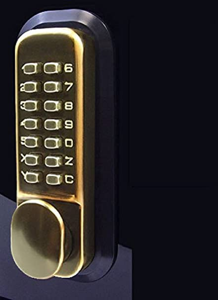 Etonnant All Weather Double Keypad Mechanical Keyless Door Lock (Oil Rubbed Bronze)