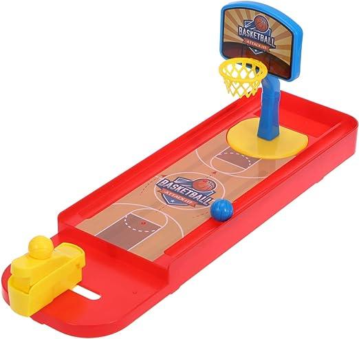 STOBOK - Juego de Tiro con los Dedos para Jugar al Baloncesto de Mesa con Campo de Baloncesto para niños: Amazon.es: Hogar