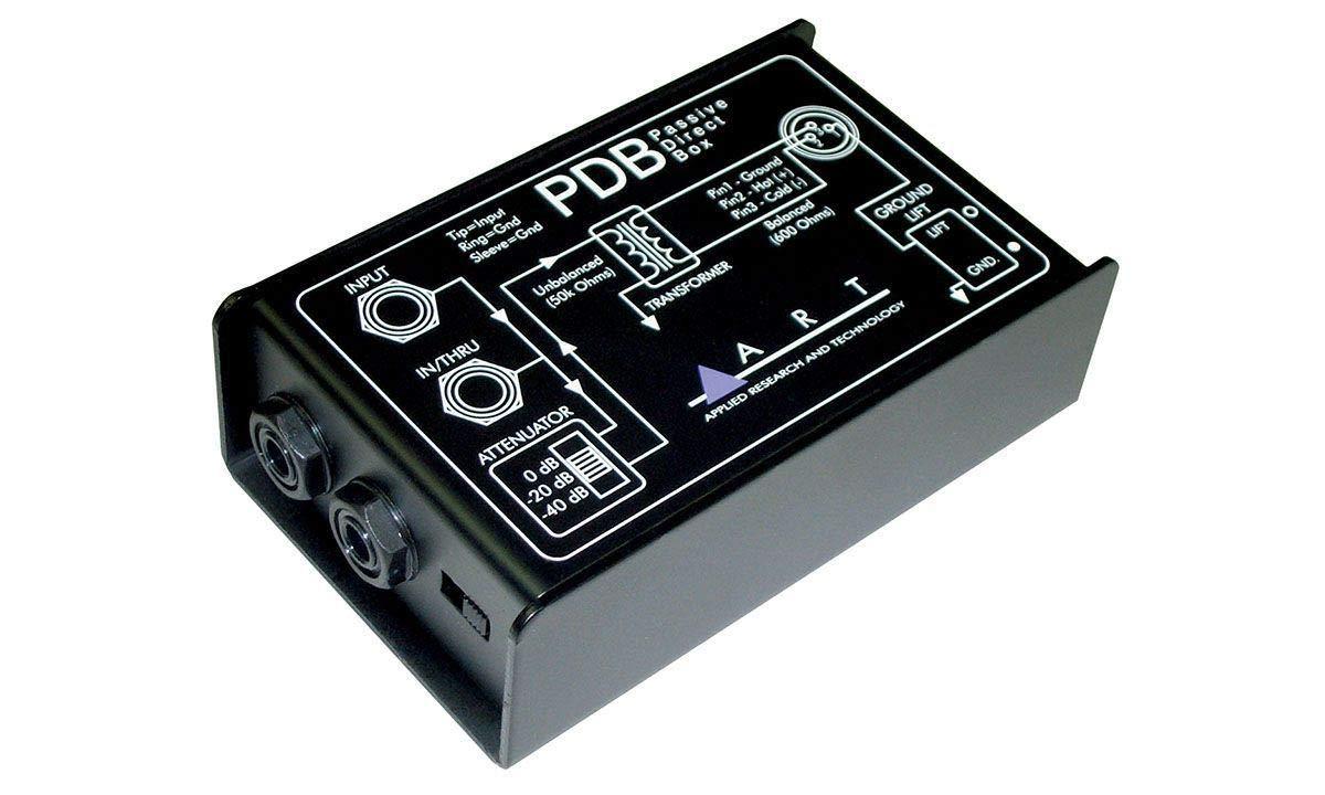 ART PDB Passive Direct Box Bundle with Bonus XLR Cable (2 Items) by ART (Image #2)