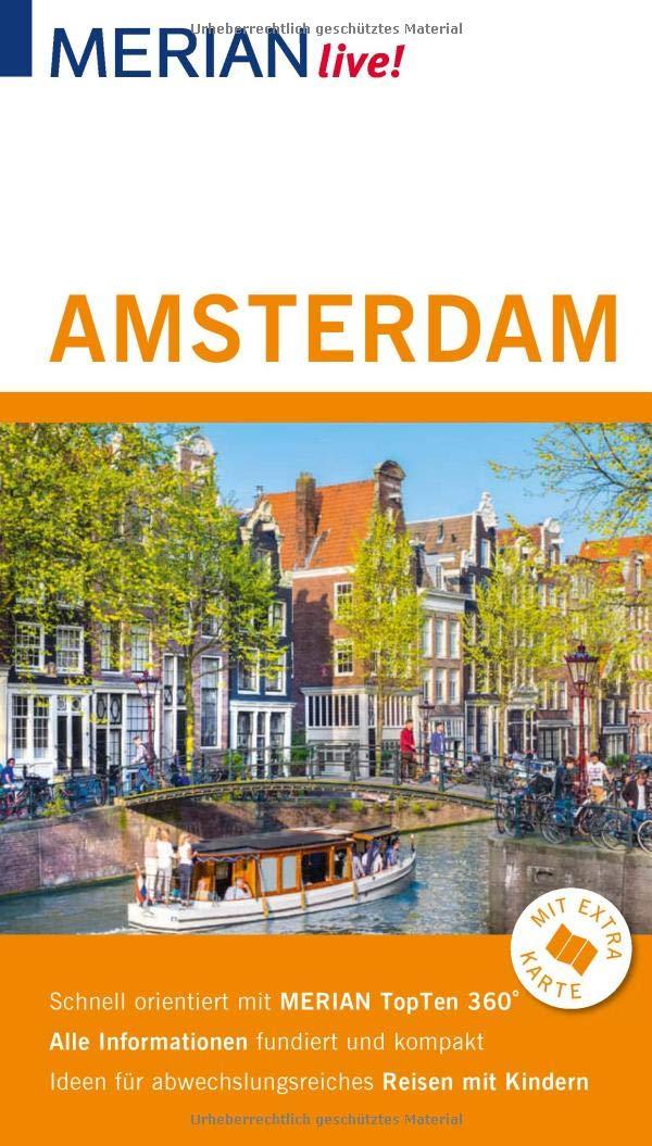 Merian Live Reisefuhrer Amsterdam Mit Extra Karte Zum