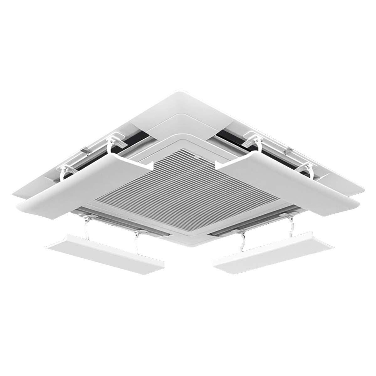 LAFULU(ラフル) エアコン風よけカバー エアコンルーバー 風よけ 風避け 冷房 暖房 風向きを自由に調整 風の直撃防止 壁に穴あけ不要 多機種対応 取り付け簡単