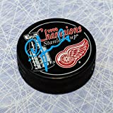 Igor Larionov Detroit Red Wings Signed 1998 Stanley Cup Puck - Autographed Hockey Pucks