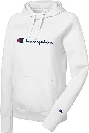 Champion Womens GF140 Plus Powerblend Hoodie Raglan Sleeves Sweatshirt