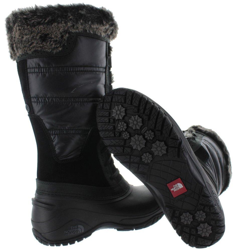 The North Face Womens Shellista II Mid B00RW5PEC0 8 B(M) US|TNF Black/Plum Kitten Grey