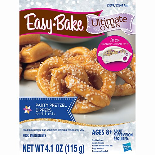 - Easy-Bake Ultimate Oven Party Pretzels Refill Pack