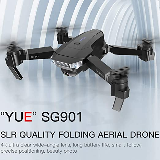 GCDN SG901 WiFi FPV Drone con cámara 4K/1080P, Live Video RC ...