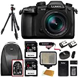 Panasonic LUMIX GH5LK 4K Mirrorless w/ Leica 12-60mm +2x SF-G Series 128GB UHSII Pro Video Bundle
