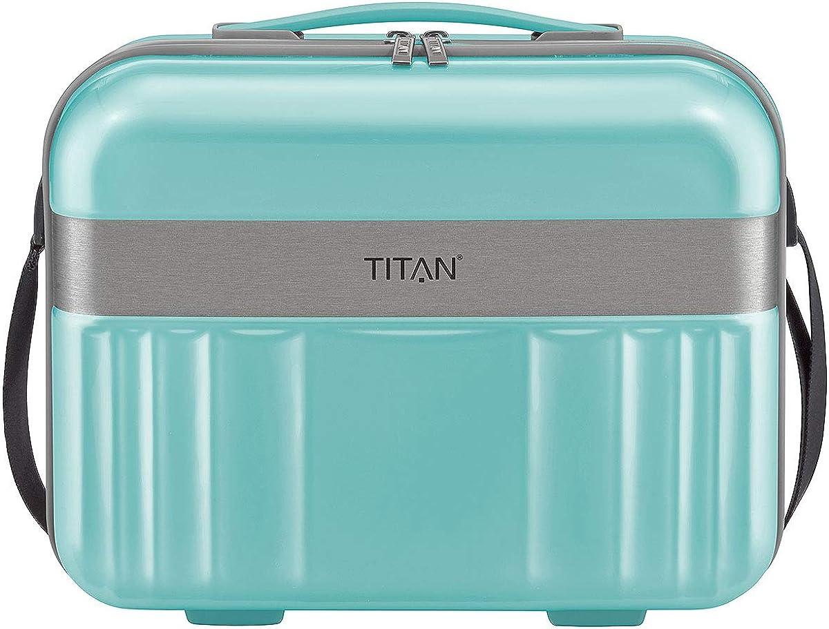 TITAN Spotlight Flash Hartschalen Beautycase Schminkkoffer Kosmetikkoffer 836702
