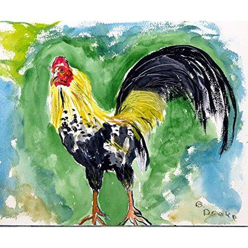 Betsy Drake DM449 Bantam Rooster Door Mat, 18