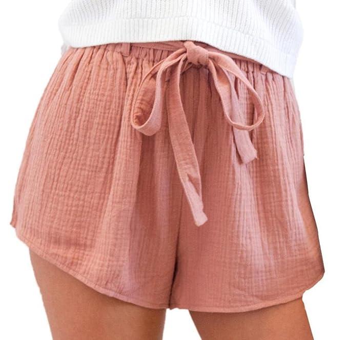Pants Elegant Lose Hot Hosen Shorts Tomatoa Sommer Kurze Frau Strandshorts Damen Sporthosen Yoga v8wmON0n