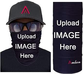 Personalized Skull Face Covering Bandanas for Men Women Neck Gaiter Balaclavas Headwear for Dust Sun Wind, Magic Scarf