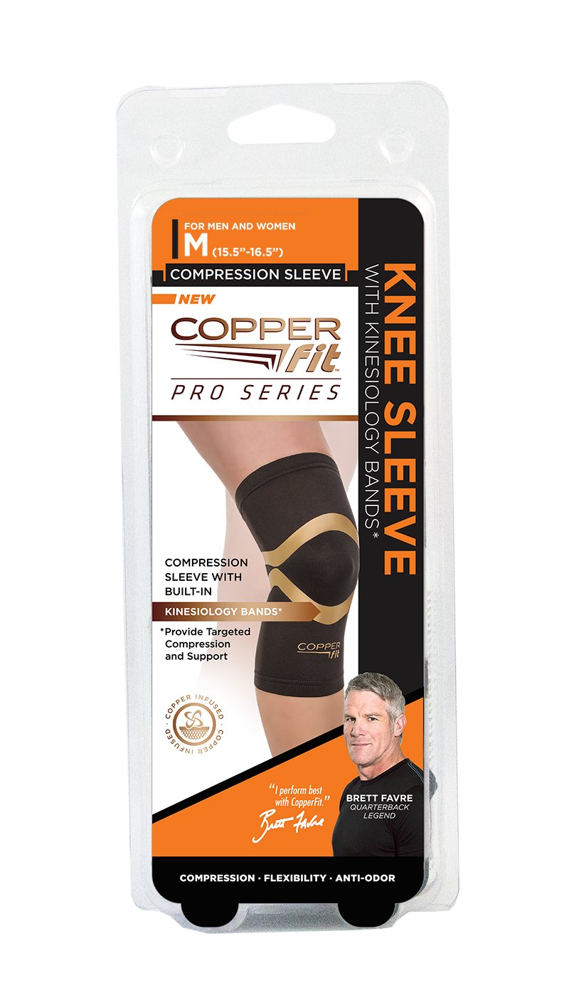eea3e68283 Amazon.com: Copper Fit Pro Series Compression Knee Sleeve: Sports & Outdoors
