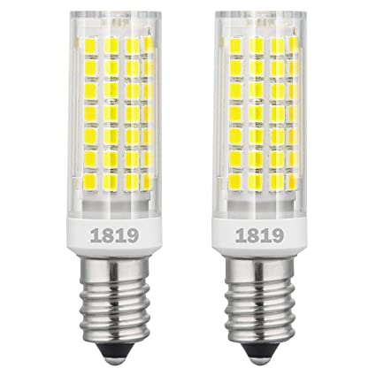1819 E14 bombillas LED de intensidad regulable 6W equivalente a 75W bombilla halógena, 95V-