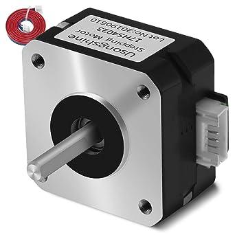 Uso ngshine NEMA 17 Motor impresora 3d piezas Titanio Motor Paso Para Titan Extrusora impresora 3d extruder 424223 mm para cabeza de J Bowden
