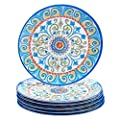 """Certified International Corp Tuscany Dinner Plate, 11"""", Multicolored, Set of 6"""