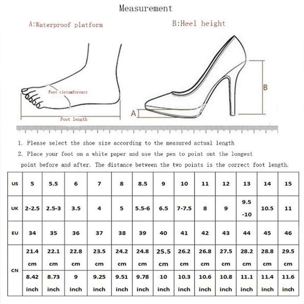 FCXBQ Fashion Pumps Stiletto Court Shoes Ankle Strap Buckle Dress Pumps High Heels Closed-Toe Block Heel Basic Shoes Pointed Non-Slip Party Banquet Work Womens Shoes
