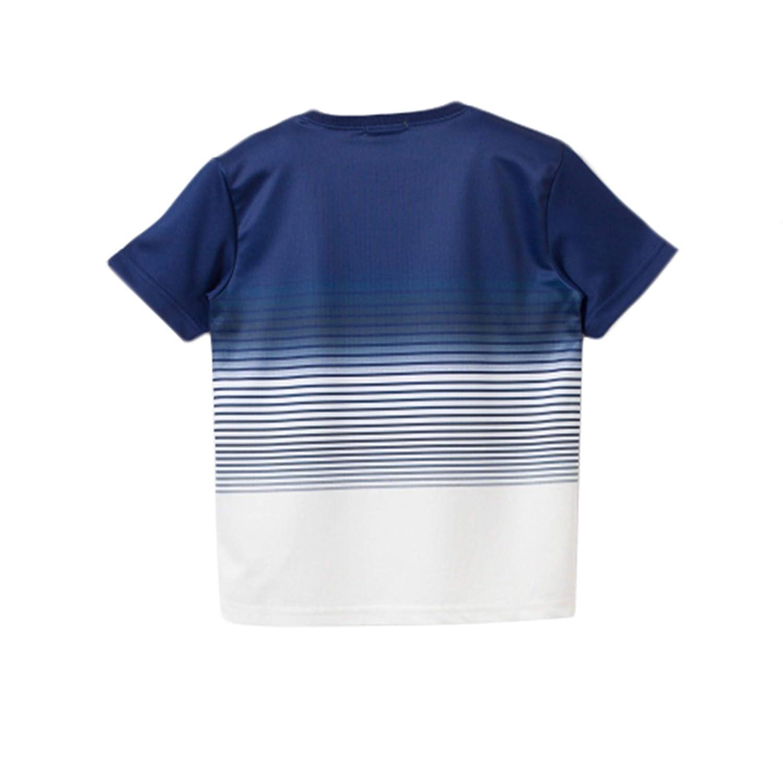 bossini Boys Passionate Spree Short Sleeve Quick Dry Gradient Print Tee 14 Blue,US Size 4t