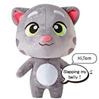 Deals on Talking Tom Cat Plush Toy Fluffy Toy Dolls 11.8-inch