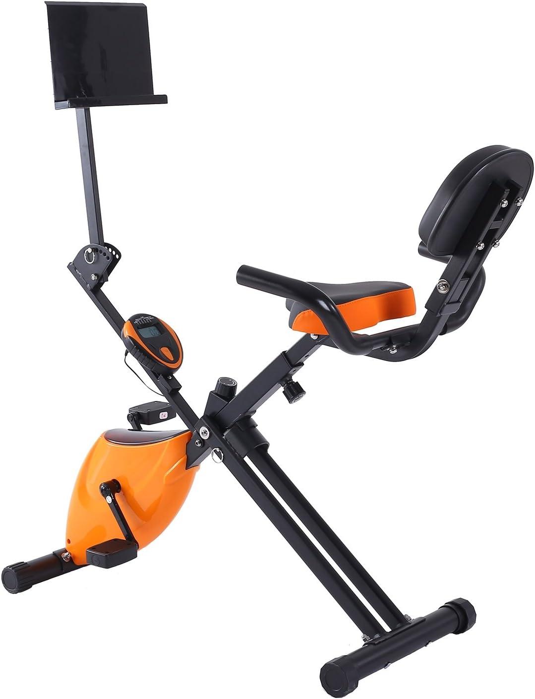 Plegable Ajustable bike-seat altura magnético vertical Fitness ...