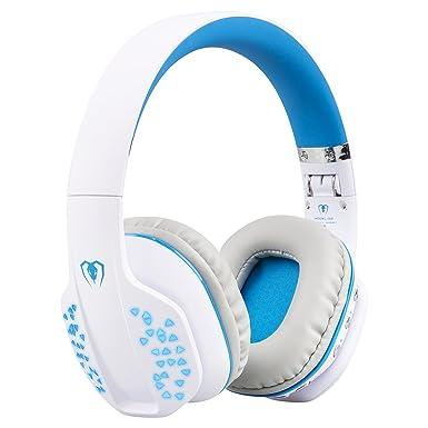 Bluetooth inalámbrico auriculares para PC portátil Tablet Smartphone, también con cable [Essential] auricular