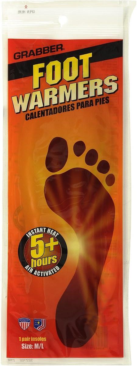 Grabber Heat Treat Foot Warmer Insoles 3-Pack Medium
