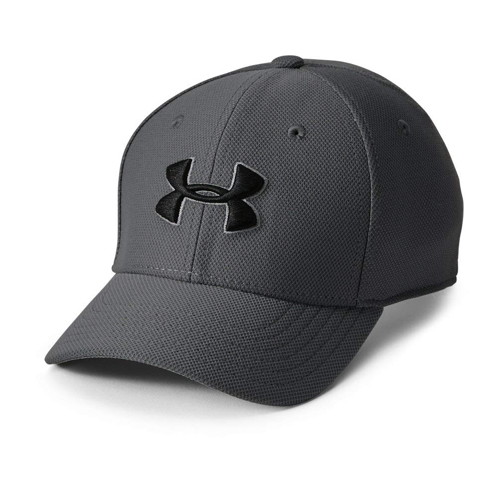 Under Armour Boy's Blitzing 3.0 Cap, Graphite (040)/Black, Youth Small/Medium by Under Armour