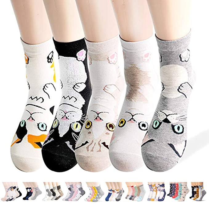 25434e8ac Womens Animal Painting Socks