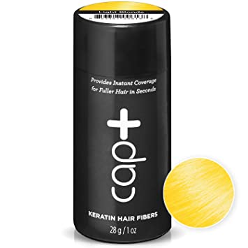 Amazon.com: Cap+ Keratin Hair Fibers (Light Blonde) - The ...