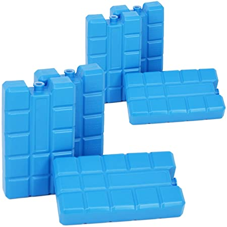 Compra com-four® 6X Paquetes de Hielo Big Pack en Azul - Elementos ...