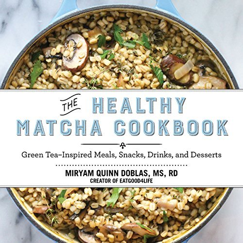 The Healthy Matcha Cookbook: Green Tea--Inspired Meals, Snacks, Drinks, and Desserts by Miryam Quinn Doblas (2015-10-22) -  Skyhorse Publishing; edition (2015-10-22)