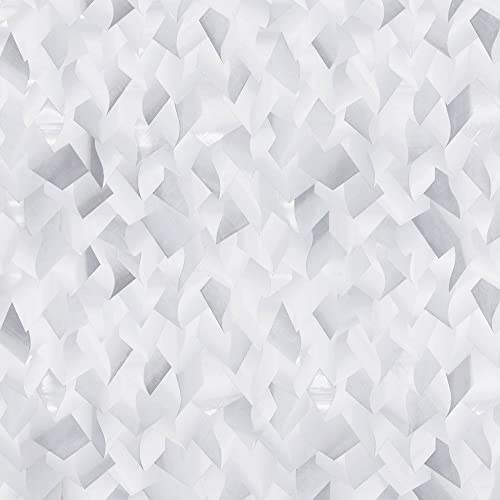 Gila 50146390 Decorative Crystal Residential DIY Static Cling No Glue No Adhesive 3ft x 6.5ft 36in x 78in 19.5 sq ft Window Film, 36 x 6.5 , Clear