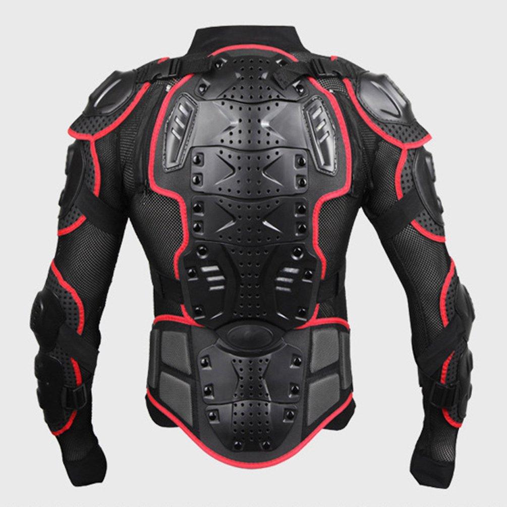 Dexinx Moto Ciclismo Equitazione Completa Armatura Armatura della Protezione Professionale Via Motocross Guardia Giacca Ritorno di Protezione