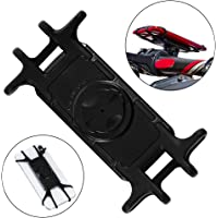 """Red-eye Silicone Bike Phone Holder. Shockproof Bike Phone Mount,Bicycle Cell Phone Holder Cradle,Bicycle Handlebar Rack Compatible with 4.5"""" to 7.5"""" Smart Phones"""