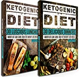 keto lunch recipes - Keto Diet: 60 Delicious Ketogenic Diet Recipes: 30 Days of Keto Lunch & Dinner + FREE GIFT! (Ketogenic Cookbook, High Fat Low Carb, Keto Diet, Weight Loss, Epilepsy, Diabetes)