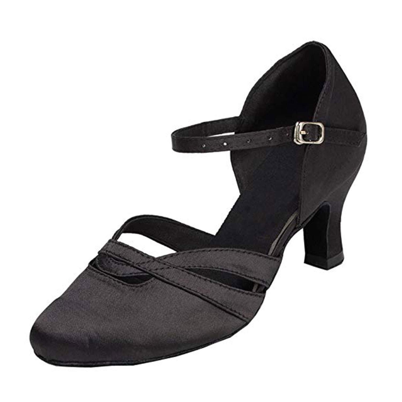 Naudamp Souliers de Danse du Tango Latin pour Femmes Chaussures de Mariage