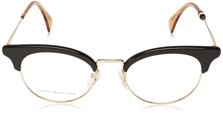 Tommy Hilfiger frame (TH-1540 807) Metal - Plastic Shiny Black - Gold   Amazon.ca  Clothing   Accessories 0f73bebafef