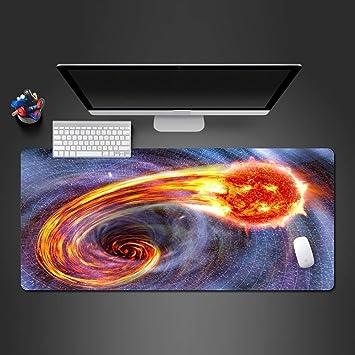 zlxzlx 800 * 300 * 3 Mm Fresco Espacio Agobiante Fireball ...