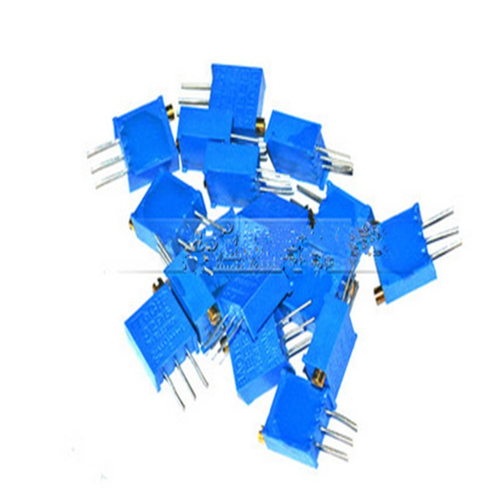 85pcs 3296W ré glable potentiomè tre Cermet Trimmer Pack 10ohm - 2M 17 valeurs hwydo