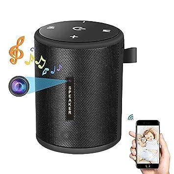 CatcherMy WiFi cámara Oculta Bluetooth Altavoz 1080 P cámara espía Audio Exterior Subwoofer HD cámara T2: Amazon.es: Electrónica