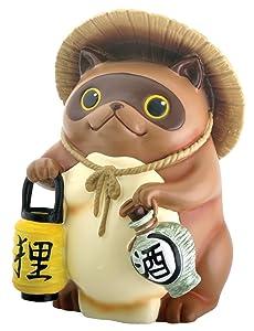 Japanese Tanuki Raccoon Dog Statue