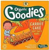 ORGANIX (VEGETARIAN) Organic Carrot Cake Cereal Bar 6x30g (PACK OF 1)