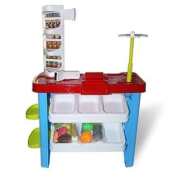 HZY Juguete Supermercado y Carrito de Compra para Niños: Amazon.es: Juguetes y juegos