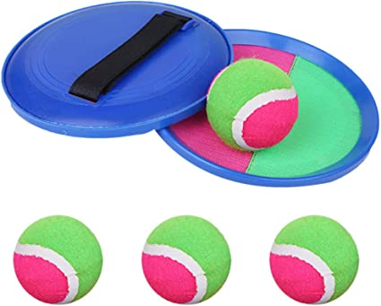 Paddle Magic Catch Ball Set Toss /& Catch Sports Game Set 2 Paddles 1 Ball NEW