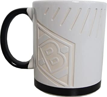 wei/ß Unbekannt VFL Borussia M/önchengladbach Borussia M/önchengladbach Fohlenelf-Artikel Einheitsgr/ö/ße Keramik Kaffee Tasse Home