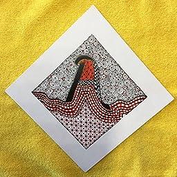 ''Alphabet Tile'' 6'' x 6'' on Cardstock - Please Specify Letter