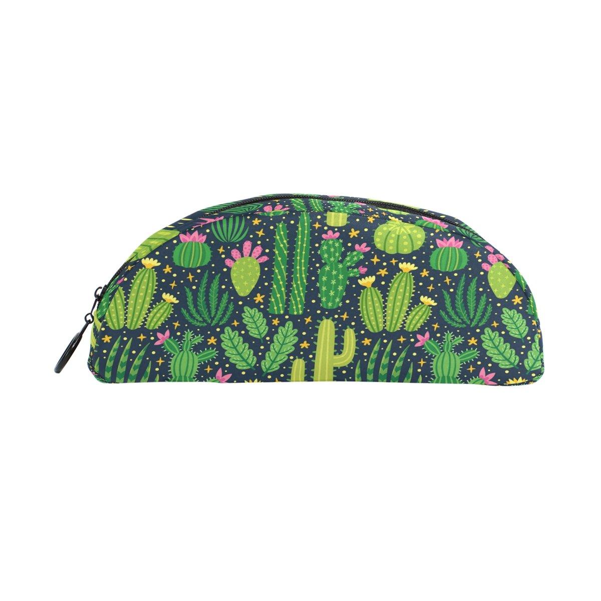 ZZKKO - Estuche para bolígrafo con cremallera, diseño de cactus de verano para niños, niñas, adolescentes, adultos: Amazon.es: Oficina y papelería