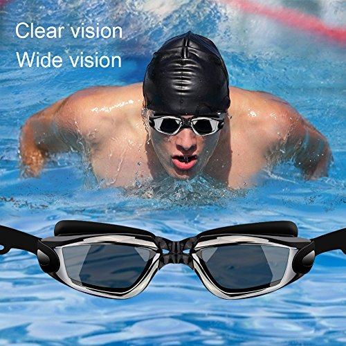 162f88fa080 Nearsighted Swimming Goggles (-0 to -8.0)
